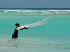 """""""Tiraba la red al agua simplemente, porque en su corazón de pescador, lanzar la red para pescar, era lo más natural de hacer...""""  ~Carlos Fernando~"""