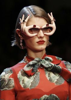 98a7f773b2880 Dolce and Gabbana SS19  sunglasses  nyfw  dg19 Unique Clothing