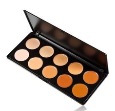 Eforstore New Professional Concealer Camouflage Makeup Palette Contour Face Contouring Kit 10 Colors for Women >>> You can get additional details at the image link.