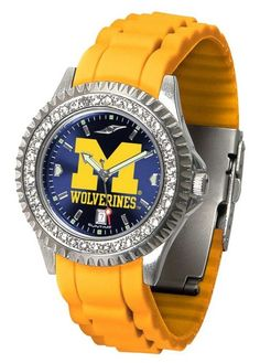 Michigan Ladies Sparkle Watch