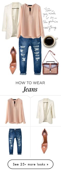 """""""ccc"""" by eiliana on Polyvore featuring MANGO and Gianvito Rossi"""