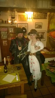 me and Paolo as a Pirates arrr 💀