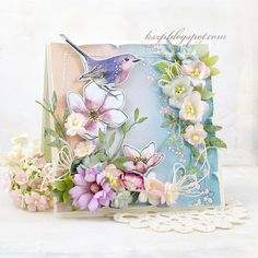 Wild Orchid Crafts: Cards with birds