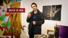 James Franco Will Paint A Portrait Of You … For (RED)
