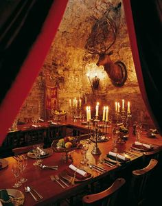 Dundas Castle. The Stag Chamber.