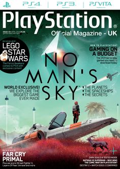 Official #PlayStation #Magazine 121. No Man's Sky, Lego Star Wars, Far Cry Primal, Dark Souls III, Batman vs superman and the 15 free-to-play games you need to download today.