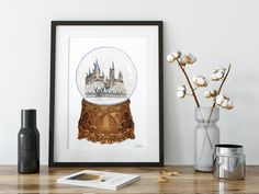 Excited to share the latest addition to my #etsy shop: Magic Printable, Snow Globe Print, Harry Potter Print, Wizard Print, Kids Adventures Printable, Travel Nursery Art, Back to School Print Travel Nursery, Nursery Art, Snow Globes, Harry Potter, Art Prints, Art Impressions, Fine Art Prints, Art Print