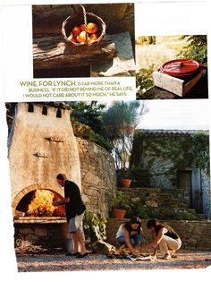 Love the height of this adobe wood fire oven. And the old European look and feel to it. Good height as well for sitting next to in the evenings and the enjoy the warmth and ambience. Wood Oven, Wood Fired Oven, Wood Fired Pizza, Outdoor Kitchen Countertops, Concrete Countertops, Outdoor Kitchens, Cob Building, Wood Burning Oven, Pizza Oven Outdoor