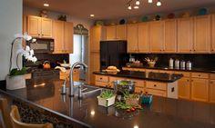 Furniture, Counter Tops Granite Kitchen Decorating Kitchen Lighting Design Small Kitchen Design Layouts: Delightful Granite Kitchen Counter Tops Interior Sets