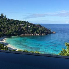 Iconic view from the Four Seasons #Seychelles of Petite Anse, Mahe.  #travel #luxury  @fsseychelles