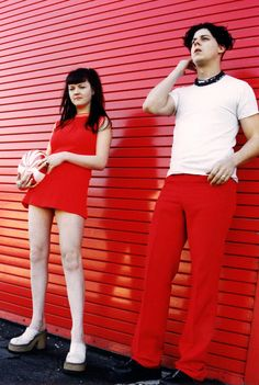 The White Stripes, when they were still in that little room [actually, for my unit plan... possibly?]
