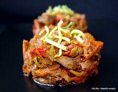 Nejedlé recepty: Játra kuřecí na zelenině a portském víně Japchae, Beef, Treats, Cooking, Ethnic Recipes, Food, Meat, Sweet Like Candy, Kitchen
