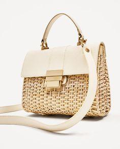 Image 4 of BRAIDED CROSSBODY BAG from Zara