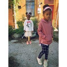 Bella & Halle @greenlightswitch #zarakids #pumakids
