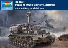 German PZ.KPFW IV AUSF D/E Fahrgestell Trumpeter 00362