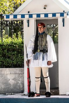 Evzone (Presidential Guard), Athens, Greece