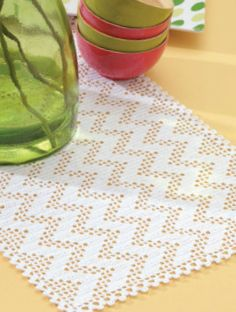 Filet Table Runners eBook