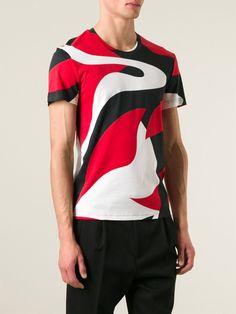 Alexander Mcqueen Camiseta Estampada - Stefania Mode - Farfetch.com bd6f945fce2