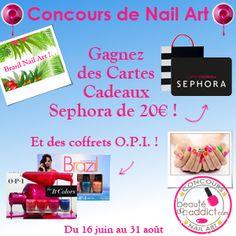Concours de Nail Art « Toutes au Brésil ! » - tropical jungle nail art by Pmabelle - pmabelle86