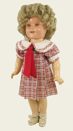 """18"""" Bright Eyes Shirley Temple Doll Dress   Vee's Victorians Doll Clothes"""