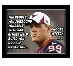 Football Wall, Football Quotes, Motivational Wall Art, Inspirational Wall Art, Football Motivation, Jj Watt, Choose Wisely, Quote Posters, Stand By Me