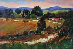 Winding Road. By Rika De Klerk Winding Road, Figurative Art, Contemporary, Painting, Painting Art, Paintings, Painted Canvas, Drawings, Fine Art