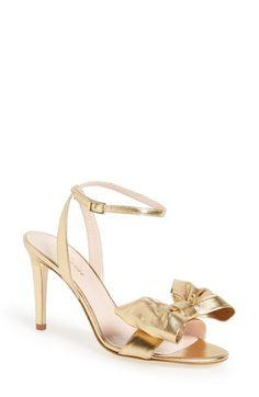 1e2469cb9ad6 kate spade new york  idella  bow sandal (Women) Italian Sandals