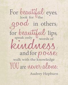 I love Audrey. quote #quote