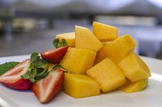 Learn how to cut up a cantaloupe the most efficient way
