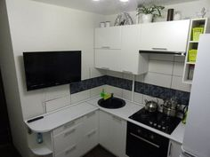 Дизайн маленькой кухни. Обсуждение на LiveInternet - Российский Сервис Онлайн-Дневников