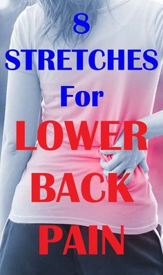 If you want to get rid of lower back pain in the fastest way humanly possible. Here are 8 best stretches for lower back pain relief Lower Back Pain Stretches, Lower Back Pain Relief, Upper Back Pain, Low Back Pain, Exercises For Lower Back, Back Spasm Relief, Severe Lower Back Pain, Bones And Muscles, Back Muscles