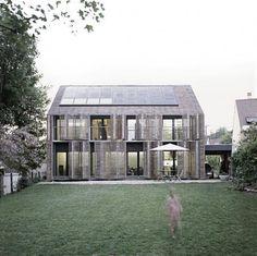 Bamboo House: uma casa passiva certificada na França ~ ARQUITETANDO IDEIAS