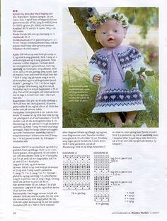 Albumarkiv - Baby Born & Build-a-Bear - New Knitting Dolls Clothes, Crochet Doll Clothes, Knitted Dolls, Doll Clothes Patterns, Reborn Dolls, Baby Dolls, Baby Born Clothes, Baby Boy Hairstyles, Dolly Doll