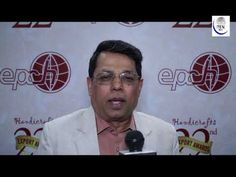 Ajay Tamta Union Mos Textile At 22nd Handicrafts Export Awards