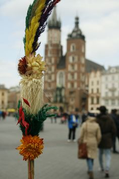 Palm Sunday in Poland is one of the biggest holidays of the year.. make sure you grab a palm from the Main Market Square and even take it to church to have it blessed  Easter in Poland I Krakow I Holidays