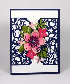 Stampin Up Floral Phrases and Botanical Blooms card by Kristi @ www.stampingwithkristi.com