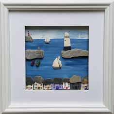 Mevagissey, Cornwall, Pebble Art