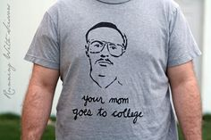 96b2e3bc9 print T-shirt Kip Napoleon Dynamite, T Shorts, Fathers Day Presents, College