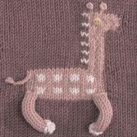 The Friendship Afghan Project: Pattern of the Day: Giraffe Square (Knit, 8 inch)