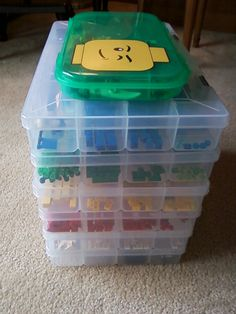 great storage for legos and other small toys