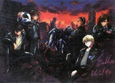 Gundam pilots- Heero, Duo, Trowa, Quatre, and Wufei
