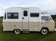 Limited edition 1970s Volkswagen Karmann Mobil camper van