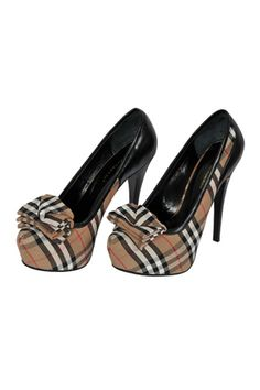 Designer Clothes Shoes | BURBERRY High-Heel Luxury Shoes #245