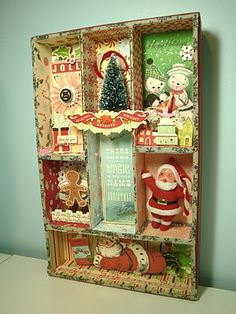 Two Crazy Crafters: Christmas Shadow Box