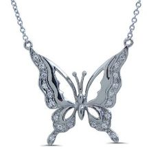 925 Sterling Silver Y Necklace with Butterfly Pendant (Jewelry) http://www.amazon.com/dp/B006M4IFDM/?tag=pindemons-20 B006M4IFDM