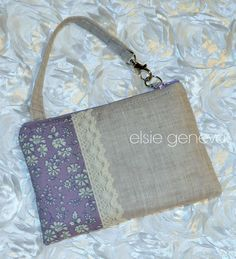 Ready to Ship Orchid & Grey / Natural Japanese by elsiegeneva