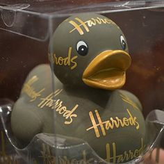 Harrods rubber ducky! I really want this one!