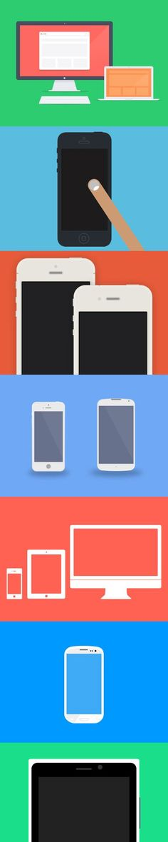 Today's we are come up with Flat Design showcase, In this roundup we have put togather Flat Devices with PSD Mockups using the flat UI style/aesthetic. http://graphicdesignjunction.com/2013/04/flat-devices-with-free-psd-mockups/