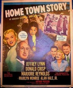 Marilyn Monroe was a budding starlet in this movie.