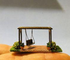 1/144th inch scale miniature-Pergola